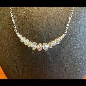 Kirks Folly crystal necklace
